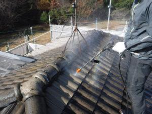 郡山市 屋根塗装